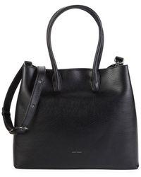 Matt & Nat Krista Vegan Leather Top Handle Bag - Black