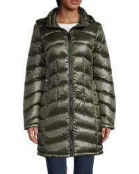 Calvin Klein Packable Down Puffer Jacket - Green