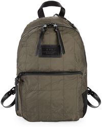 John Varvatos - Quilted Laptop Backpack - Lyst