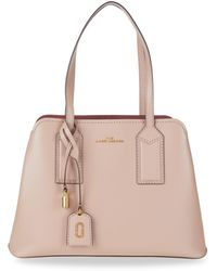 Marc Jacobs The Editor Leather Satchel - Natural