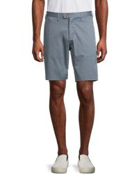 Ted Baker Textured Chino Shorts - Blue