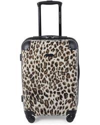 Rebecca Minkoff Katie 20-inch Leopard-print Suitcase - Leopard - Multicolour