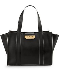 Zac Zac Posen - Classic Leather Satchel - Lyst