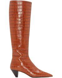 MERCEDES CASTILLO Donique Boots - Brown