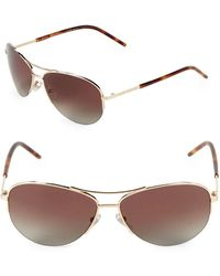Marc Jacobs - 59mm Round Aviator Sunglasses - Lyst