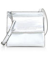 Calvin Klein - Foldover Crossbody Bag - Lyst