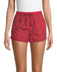 Rebecca Minkoff Nora Pull-on Shorts - Red