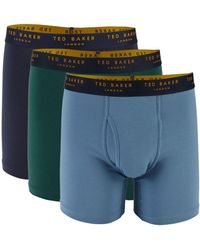 Ted Baker 3-pack Boxer Briefs - Green