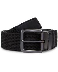 Nike Reversible Gunmetal Belt - Black