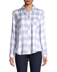 Rails Hunter Flannel Shirt - Blue