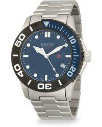 Gucci Men's 126 Xl Bracelet Watch, 45mm - Metallic
