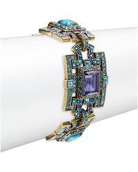Heidi Daus Deco Windowpane Bracelet - Multicolour