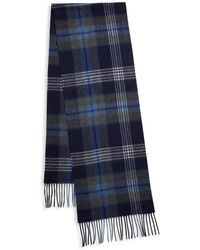 Saks Fifth Avenue - Exploded Plaid Cashmere Scarf - Lyst