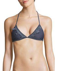 Tularosa - Lovely Halterneck Bikini Top - Lyst