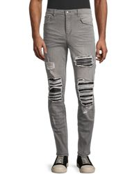 Standard Issue Men's Distressed Jeans - Grey - Size 36