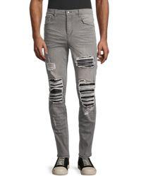 Standard Issue Men's Distressed Jeans - Indigo - Size 36 - Blue