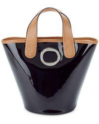 Frances Valentine - Charlie Patent Leather Bucket Bag - Lyst