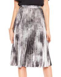 2d823c3556 Maje Jiba Tweed Skirt in Natural - Lyst