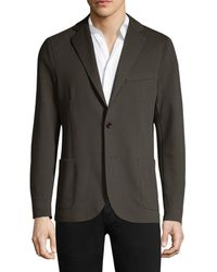 Eleventy Classic-fit Suit Jacket - Black