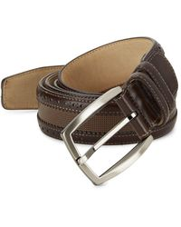 Mezlan - Diver Leather Belt - Lyst