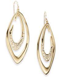Alexis Bittar | Miss Havisham Liquid Crystal Orbiting Link Drop Earrings | Lyst