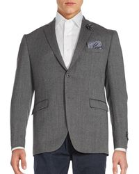 Original Penguin Two-button Jacket - Grey