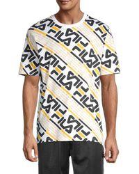 Fila Calvin Logo T-shirt - White