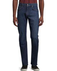 7 For All Mankind Men's Standard Straight-leg Jeans - Belmont - Size 32 - Blue