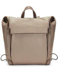 Vince Camuto Min Leather Backpack - Black