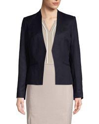Calvin Klein Classic Open-front Jacket - Blue