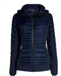 Pajar Makani Quilted Featherless Puffer Jacket - Blue