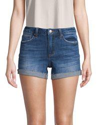 Joe's Jeans Five-pocket Denim Shorts - Blue