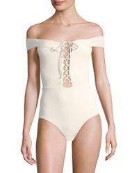 L*Space - Anja One-piece Swimsuit - Lyst