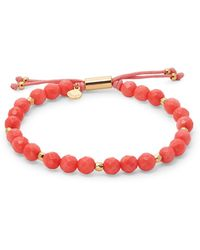 Gorjana Coral Beaded Bracelet - Multicolour