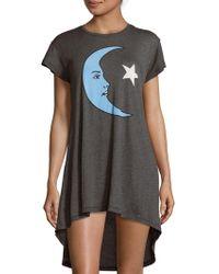 Wildfox Moon & Star Pullover Dress - Black