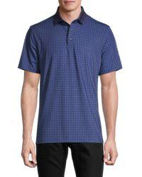 Greyson Men's Summer Snow Polo Shirt - Abyss - Size Xxl - Blue