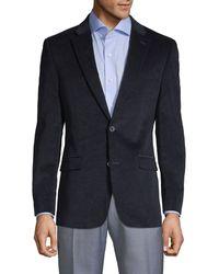 Tommy Hilfiger Stretch Coduroy Sportcoat - Blue