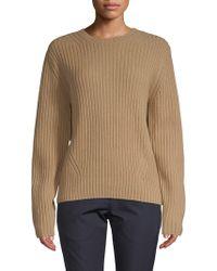 Dries Van Noten - Crewneck Oversized Wool Sweater - Lyst