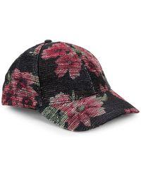 Lyst - Stussy X Uo Floral Mesh Bucket Hat in Black for Men e2c369d6c482