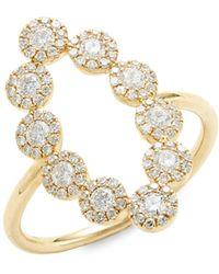 Alor 14k Yellow Gold Unicorn Stud Earrings - Multicolor