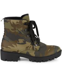 Kendall + Kylie Epic Camo Hikers - Green