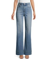 Current/Elliott High-rise Maritime Fit Jeans - Blue