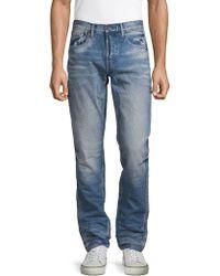 PRPS Mid-rise Slim-fit Jeans - Blue