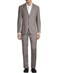 Original Penguin Classic Slim-fit Suit - Gray