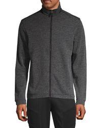 Saks Fifth Avenue Full-zip Jacket - Black