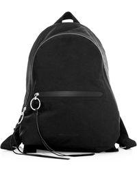 Rebecca Minkoff Dome Nylon Backpack - Black