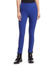 Rag & Bone Simone Zipper Trousers - Blue