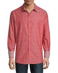 Robert Graham - Danvers Print Long Sleeve Shirt - Lyst
