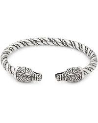 Perepaix - Engraved Cuff Bracelet - Lyst