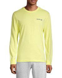 Hurley Bodega Pineapple Logo T-shirt - Blue